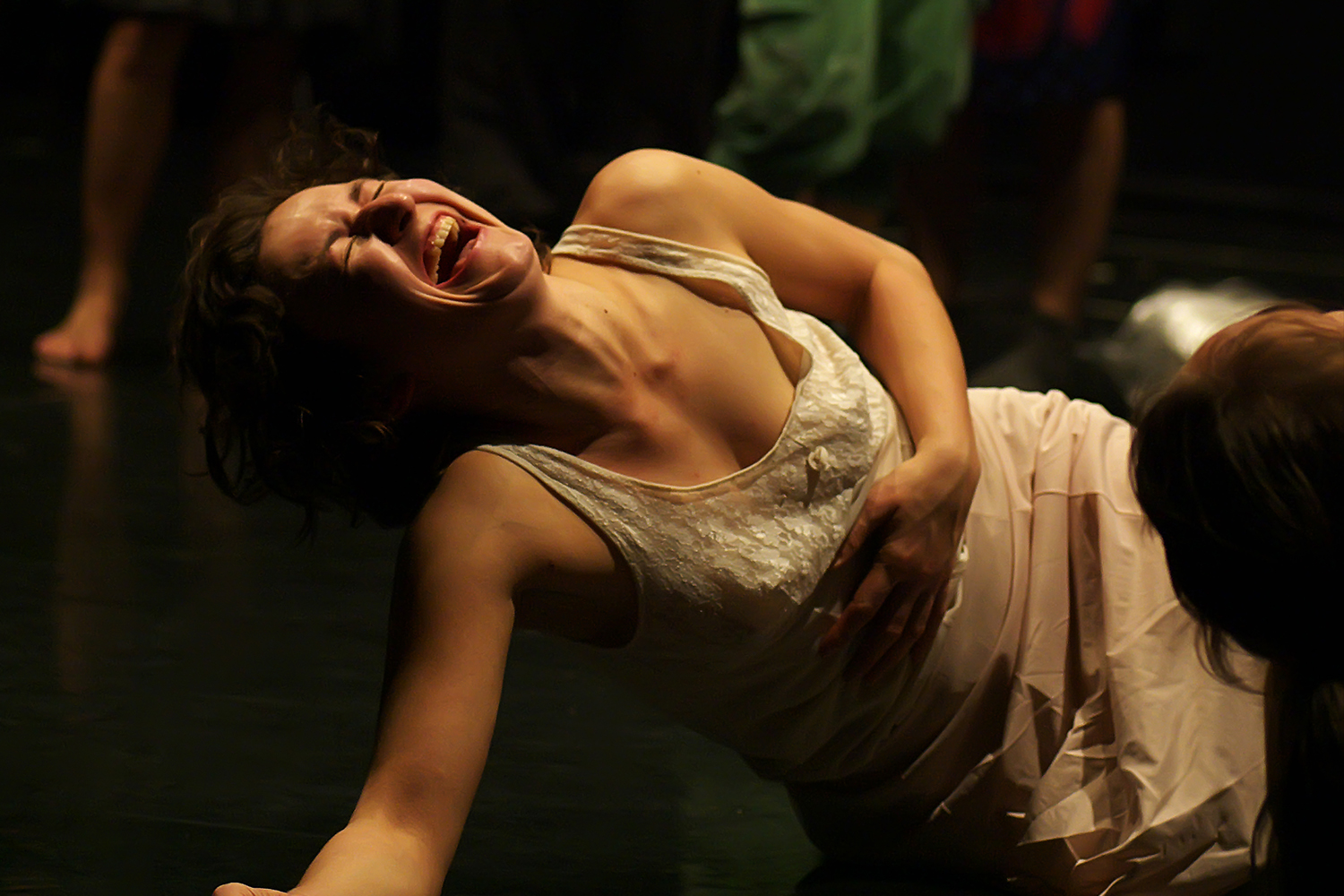 Emese Kovács:  When is the moment when I become aware that I am already dancing?